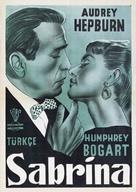 Sabrina - Turkish Movie Poster (xs thumbnail)