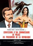 Confessione di un commissario di polizia al procuratore della repubblica - French Movie Poster (xs thumbnail)