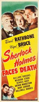 Sherlock Holmes Faces Death - Movie Poster (xs thumbnail)
