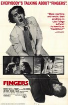 Fingers - Movie Poster (xs thumbnail)