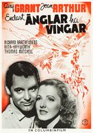 Only Angels Have Wings - Swedish Movie Poster (xs thumbnail)