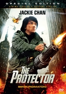 The Protector - Finnish DVD cover (xs thumbnail)