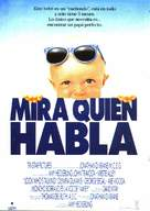 Look Who's Talking - Spanish Movie Poster (xs thumbnail)