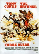Taras Bulba - French Movie Poster (xs thumbnail)