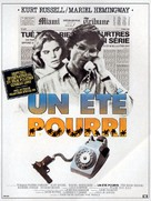 The Mean Season - French Movie Poster (xs thumbnail)
