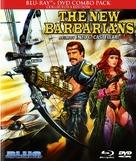 I nuovi barbari - Blu-Ray cover (xs thumbnail)