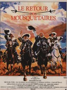 The Return of the Musketeers - French Movie Poster (xs thumbnail)