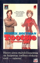 Tootsie - Finnish VHS movie cover (xs thumbnail)