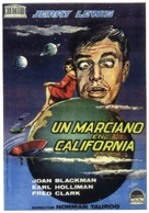 Visit to a Small Planet - Spanish Movie Poster (xs thumbnail)