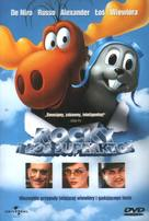 The Adventures of Rocky & Bullwinkle - Polish DVD cover (xs thumbnail)