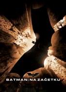 Batman Begins - Slovenian Movie Poster (xs thumbnail)