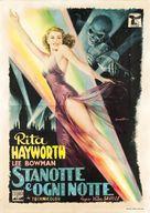 Tonight and Every Night - Italian Movie Poster (xs thumbnail)