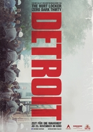 Detroit - German Movie Poster (xs thumbnail)