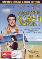 Forgetting Sarah Marshall - Australian DVD cover (xs thumbnail)