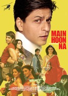 Main Hoon Na - German Movie Poster (xs thumbnail)