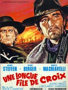 Una lunga fila di croci - French Movie Poster (xs thumbnail)