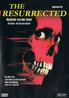 The Resurrected - German DVD cover (xs thumbnail)