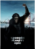 Rise of the Planet of the Apes - Slovak Movie Poster (xs thumbnail)