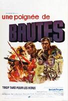 Too Late the Hero - Belgian Movie Poster (xs thumbnail)