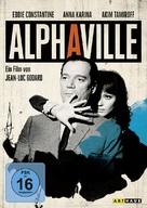 Alphaville, une étrange aventure de Lemmy Caution - German DVD cover (xs thumbnail)