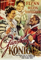 The Private Lives of Elizabeth and Essex - German Movie Poster (xs thumbnail)