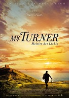 Mr. Turner - German Movie Poster (xs thumbnail)