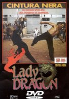 Lady Dragon - Italian DVD cover (xs thumbnail)