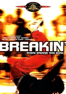 Breakin' - DVD movie cover (xs thumbnail)