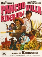 Villa Rides - Danish Movie Poster (xs thumbnail)
