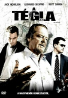 The Departed - Hungarian Movie Cover (xs thumbnail)