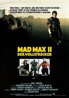 Mad Max 2 - German Movie Poster (xs thumbnail)