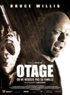 Hostage - French Movie Poster (xs thumbnail)