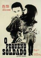 Le petit soldat - Brazilian Movie Poster (xs thumbnail)