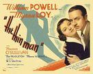 The Thin Man - British Movie Poster (xs thumbnail)