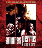 Amores Perros - Czech Movie Cover (xs thumbnail)