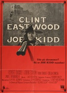 Joe Kidd - Danish Movie Poster (xs thumbnail)