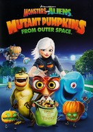 Monsters vs Aliens: Mutant Pumpkins from Outer Space - DVD movie cover (xs thumbnail)