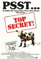 Top Secret - German Movie Poster (xs thumbnail)