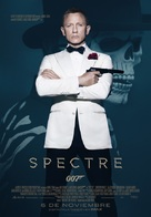 Spectre - Spanish Movie Poster (xs thumbnail)