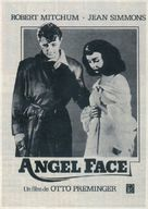 Angel Face - Spanish Movie Poster (xs thumbnail)