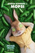Peter Rabbit - German Movie Poster (xs thumbnail)