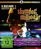 Slumdog Millionaire - German Blu-Ray cover (xs thumbnail)