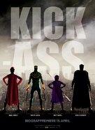 Kick-Ass - Danish Movie Poster (xs thumbnail)