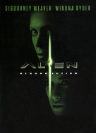 Alien: Resurrection - DVD cover (xs thumbnail)
