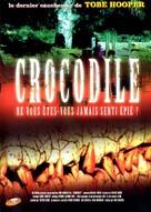 Crocodile - French DVD movie cover (xs thumbnail)
