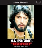 Serpico - British Blu-Ray movie cover (xs thumbnail)
