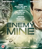 Enemy Mine - British Blu-Ray movie cover (xs thumbnail)