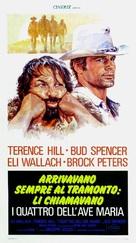 I quattro dell'Ave Maria - Italian Movie Poster (xs thumbnail)