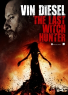 The Last Witch Hunter - Thai Movie Poster (xs thumbnail)