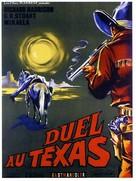 Duello nel Texas - French Movie Poster (xs thumbnail)